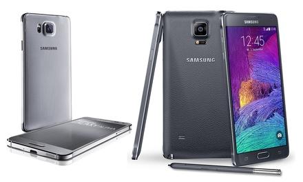 Samsung Galaxy Note 4/Alpha/A3/A5/Grand Prime/S4 Mini et S5 Mini reconditionné, Garanti 1 an, livraison gratuite