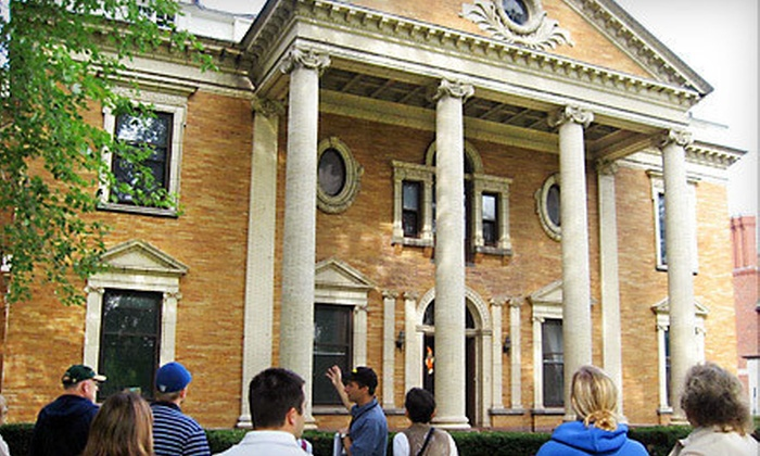 Buffalo Tours - Central Business District: Walking Tour for Two or Four or One Family Membership from Buffalo Tours (Half Off)