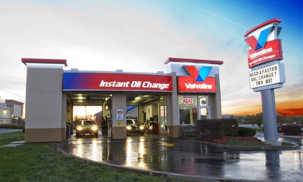 Synthetic-Blend, or Full Synthetic Oil Change at Valvoline Instant Oil Change (Up to 41% Off)