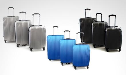 10466b847 Desde $3400 en vez de $5000 por set de 3 valijas rígidas ultralivianas para  retirar en