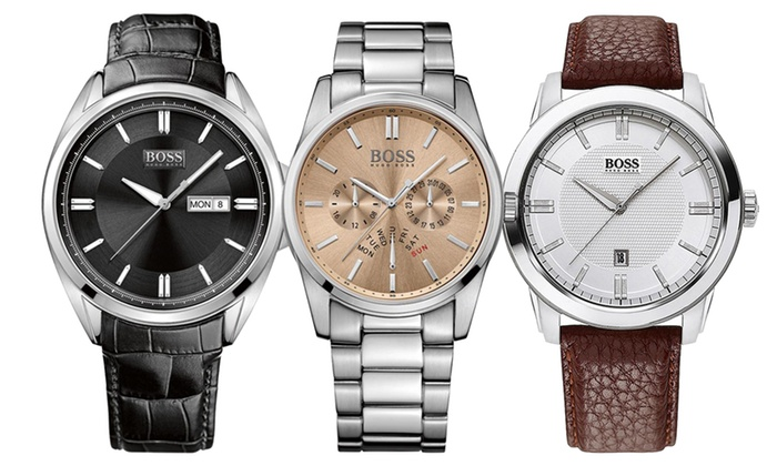 hugo boss men s watches groupon goods groupon goods global gmbh hugo boss men s watches in choice of designs from £89 99