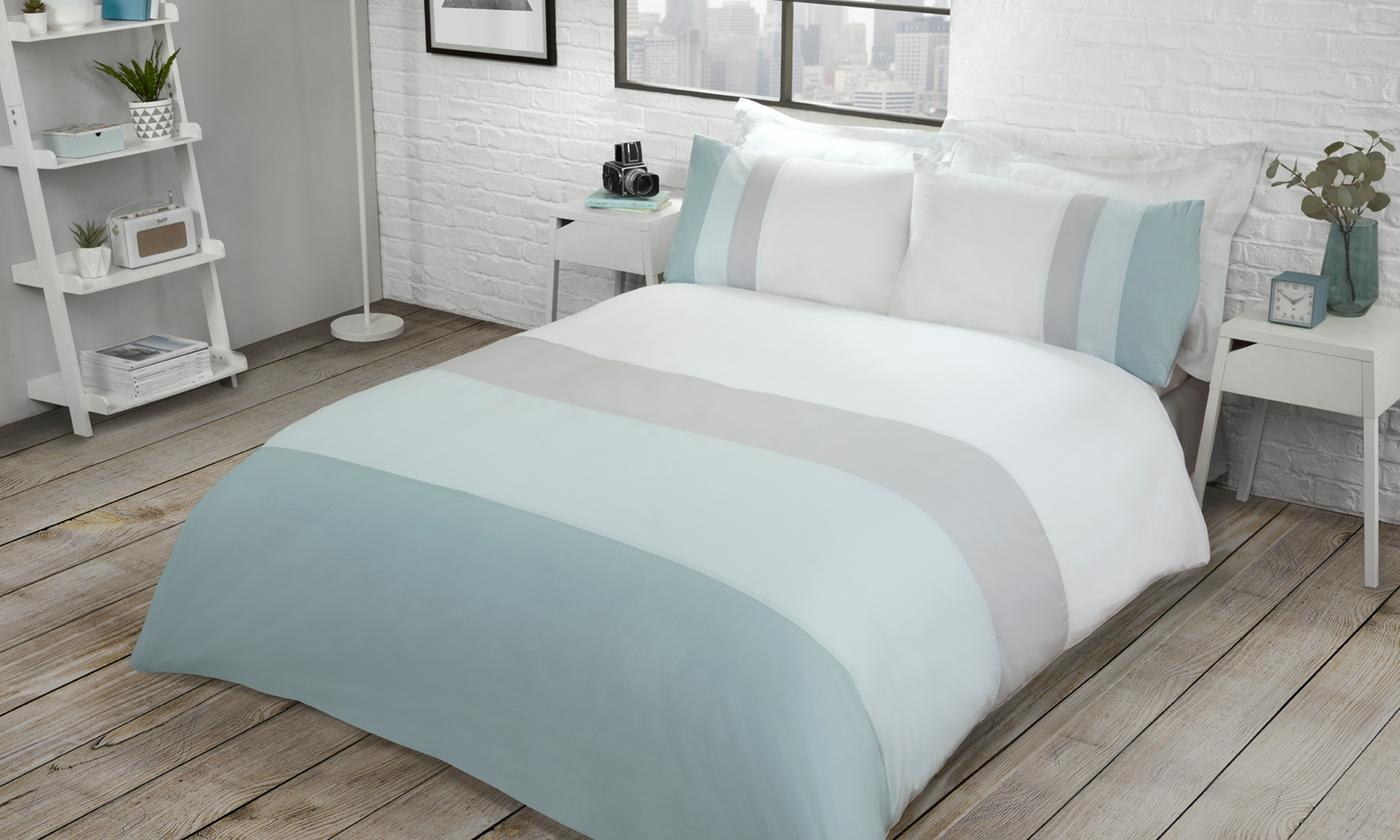 Pieridae Colour Block Duvet Set
