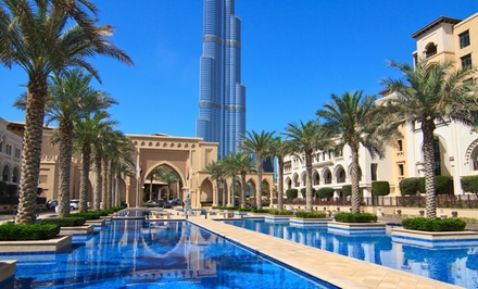 Groupon Deal: 7-Day Dubai Vacation with Airfare from Pacific Holidays. Price/Person Based on Double Occupancy.