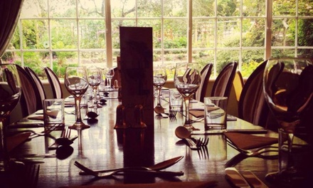 TwoCourse Meal with a Glass of Wine for Two or Four at Blue Bell Hotel