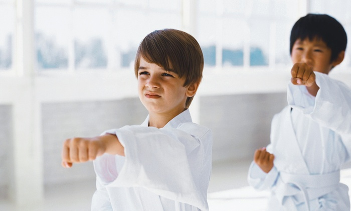Mpact Martial Arts, Gymnastics and Cheer - Brentwood: Six Weeks of Kids' Martial-Arts Classes for One or Two at Mpact Martial Arts, Gymnastics and Cheer (Up to 74% Off)