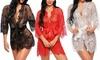 Sexy Women's Lingerie Lace Floral Nightwear