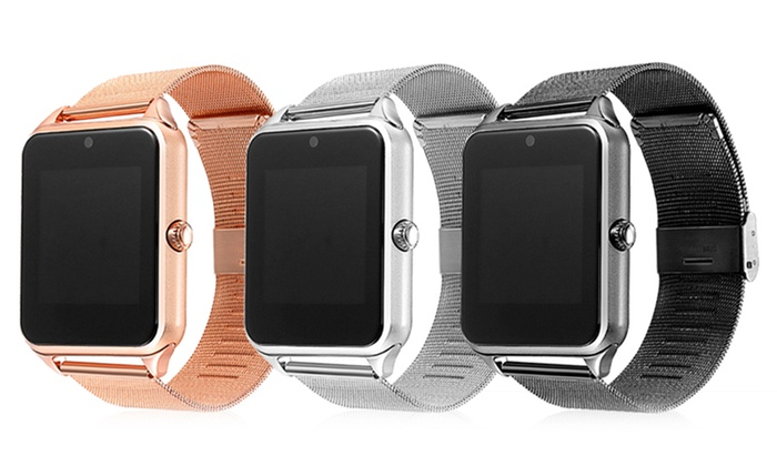 Apachie GT08 Stainless Steel Smartwatch
