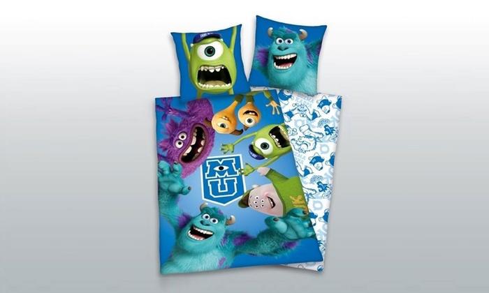 parure de lit avec housse de couette et taie d 39 oreiller pour enfant groupon. Black Bedroom Furniture Sets. Home Design Ideas