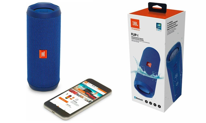 JBL Flip 4 Portable Bluetooth Speaker With Free Delivery