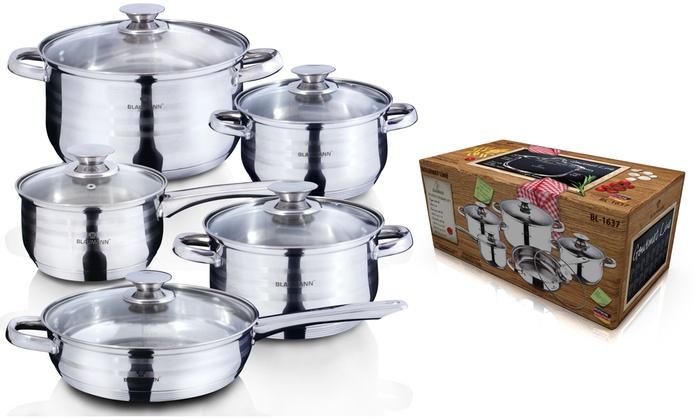 Bater a de cocina blaumann groupon for Iber baterias de cocina