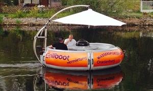 Wassersportzentrum Oranienburg: 4 Std. Grill-Bootsmiete inkl. Grillset für bis zu 10 Personen im Wassersportzentrum Oranienburg (bis zu 53% sparen*)