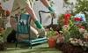 Garten-Kniebank mit Tasche