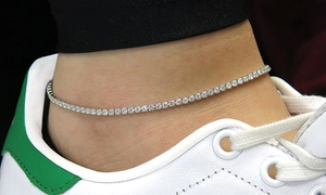 Anklet with Swarovski Crystals at Anklet with Swarovski Crystals, plus 6.0% Cash Back from Ebates.