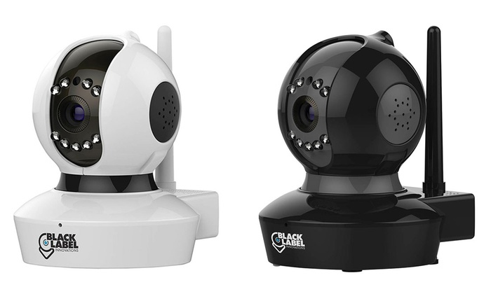 Black Label Cam Pro 1080p Full HD WiFi Surveillance Camera (1or 2 Pack or SD Option)