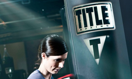 Up to 76% Off Unlimited Fitness Classes at TITLE Boxing Club-  Lafayette