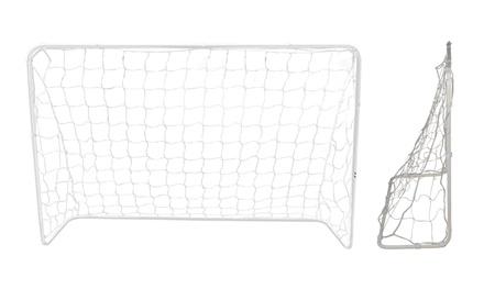 White Football Goal