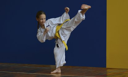 image for Eight Weeks of Unlimited <strong>Martial Arts</strong> Classes at Ahn's Tae Kwon DO (74% Off)