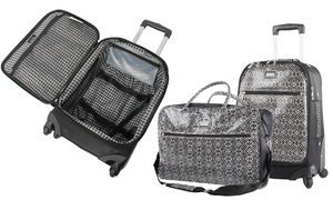 Nicole Miller Teagan Softside Spinner Luggage Set (2-Piece)