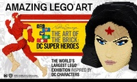 The Art of The Brick: DC Super Heroes, 9 June - 9 July, South Bank, London (Up to 39% Off)