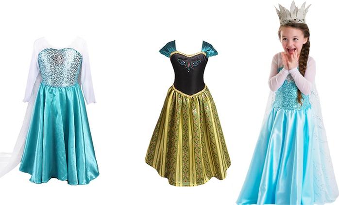 Robe de Princesse, 2 coloris au choix à 15,99€, livraison offerte (45% de réduction)