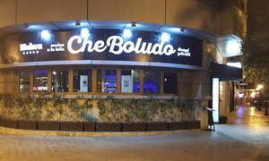 Che Boludo: Parrillada argentina para 2 o 4 con entrante, botella de vino, postre, café y combinado desde 49,90 € en Che Boludo