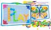 Doodle Puzzle Peg Set