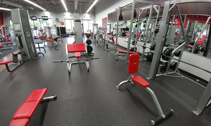 gym membership snap fitness groupon. Black Bedroom Furniture Sets. Home Design Ideas