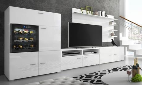 Mueble TV con vinoteca Denis