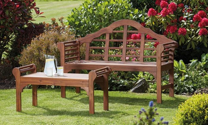 Acacia Hardwood Garden Furniture Range