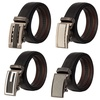 Alberto Cardinali Men's Genuine Leather Automatic Ratchet Belt