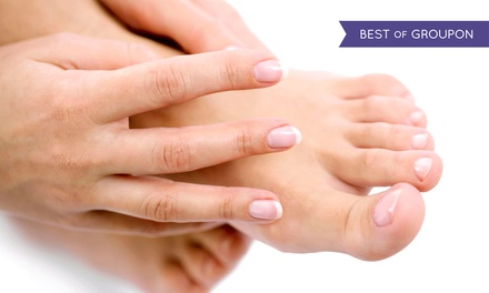 Laser Fungal Nail Treatment for One Hand or Foot or Both Hands and Feet at Pami's Beauty
