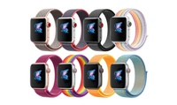 Soft Breathable Nylon Sport Loop Band for Apple iWatch Series 1/2/3/4/5