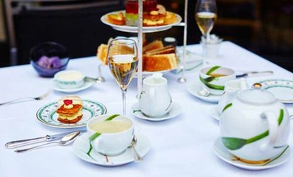 image for Afternoon Tea with Glass of Prosecco for Two or Four at Sky Lounge at DoubleTree Hilton Leeds (Up to 42% Off)