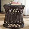 Safavieh Wicker Round Accent Table