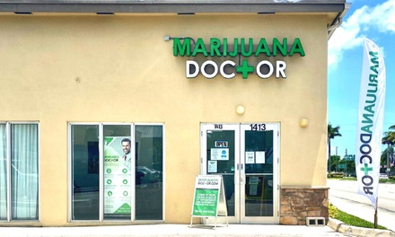 $147 for New Patient Consultation for Medical Marijuana Certification inFlorida ($199 Value)