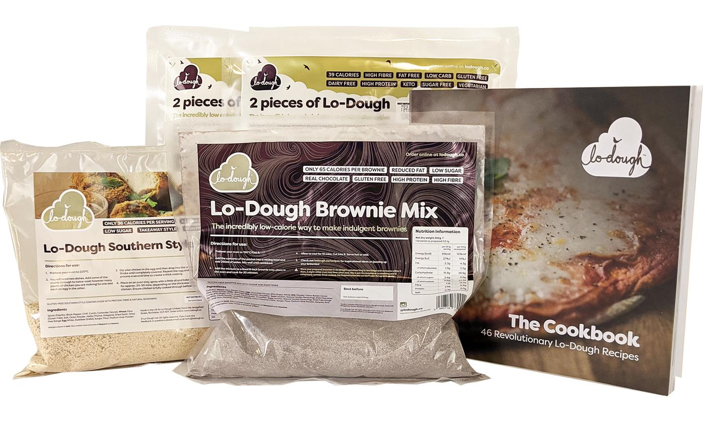 Lo-Dough Gluten-Free Starter Kit With Free Delivery