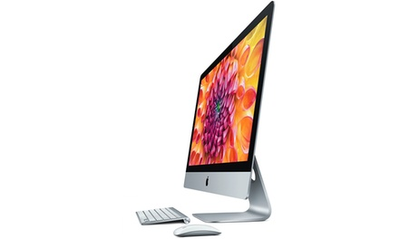 "Refurbished Apple iMac 21.5"" Slim Quad Core 2.7GHZ 1TB with Optional Wireless Keyboard and Mouse With Free Delivery"