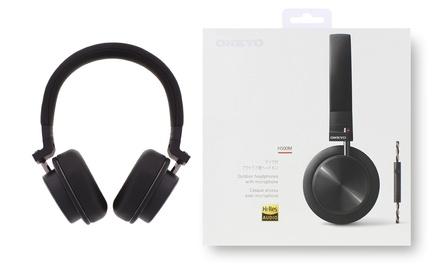 Cascos con micrófono Onkyo H500M
