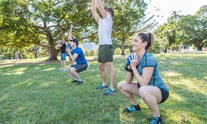 Boot It Fitness: Four Weeks of Boot Camp: One ($19), Two ($29), Three ($39) or Four People ($49) at Boot It Fitness (Up to$560 value)