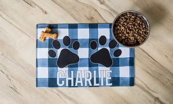 Up to 90% Off Personalized Pet Placemats from Qualtry