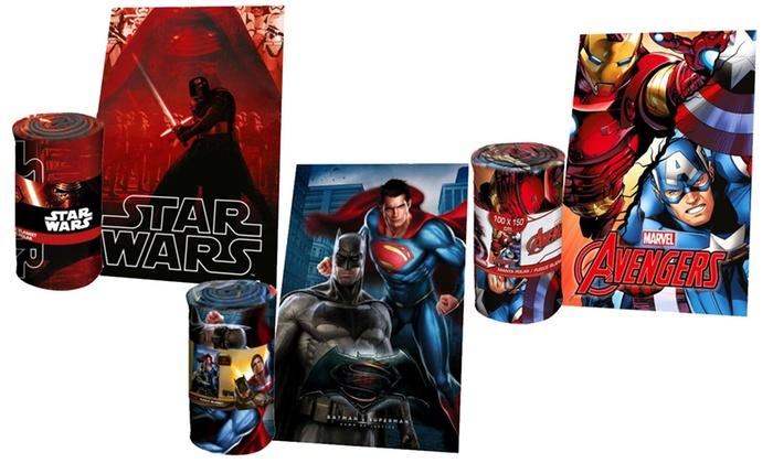 Coperta Pile Con Foto Groupon.Coperte In Pile Disney E Marvel Groupon Goods