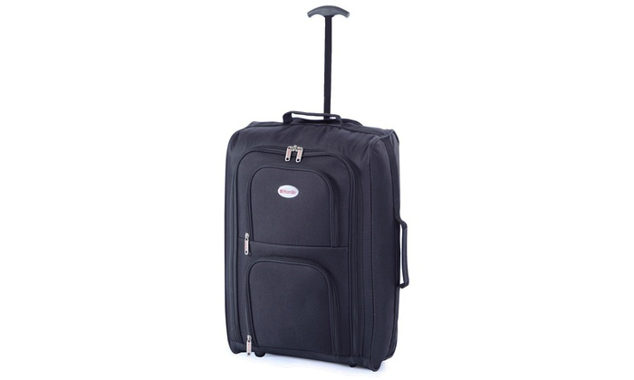 One or Two Cabin-Sized Trolley Bags