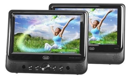 Lettore DVD portatile Trevi TW 7005 con 2 display e spedizione gratuita