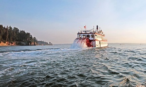 Harbour Cruises & Events: One-Hour Vancouver Harbour Tour for Two or Four from Harbour Cruises & Events (Up to 46% Off)