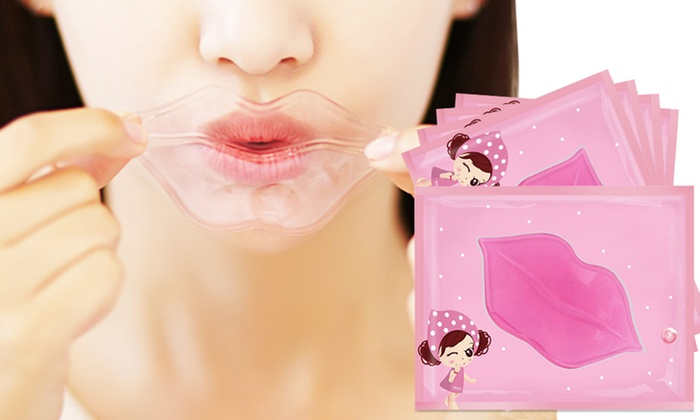 5, 10, 15 or 20 Pink Collagen Nourishing Lip Mask for £1.99