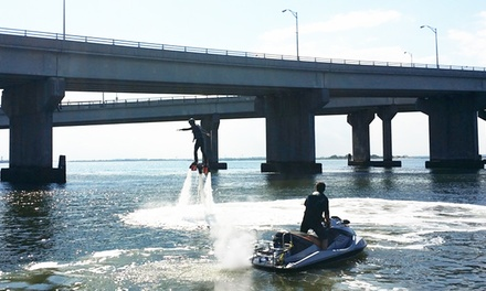 20-Minute Flyboard Flights for One or Two from Rockaway Jet Ski (Up to 34% Off)