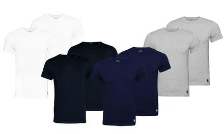 Pack de 2 t shirts Ralph Lauren col rond pour homme