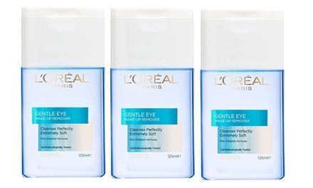 LOreal Gentle Eye Makeup Removers: Three Pack ($17.95) or Six Pack ($32.95) (Dont Pay up to $82.26)