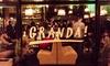 Granda Bar - Warszawa: 18,99 zł za groupon o wartości 30 zł do wydania na całe menu i więcej opcji w Granda Bar (do -40%)