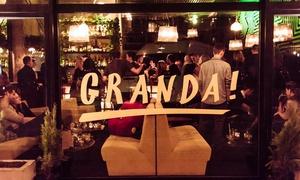 Granda Bar: 18,99 zł za groupon o wartości 30 zł do wydania na całe menu i więcej opcji w Granda Bar (do -40%)